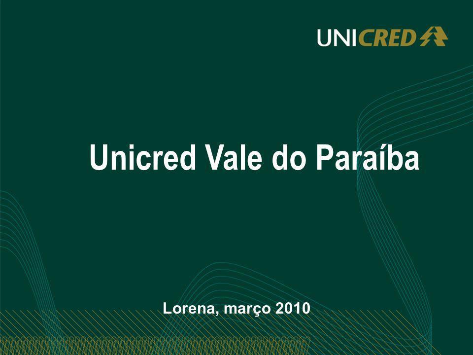 Unicred Vale do Paraíba Lorena, março 2010