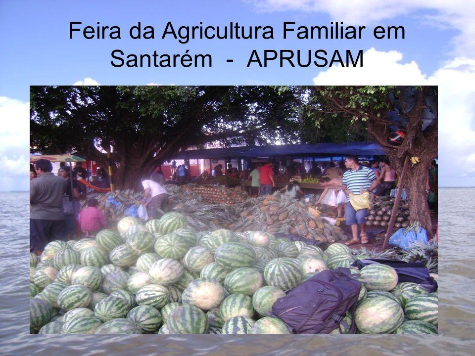 Feira da Agricultura Familiar em Santarém - APRUSAM