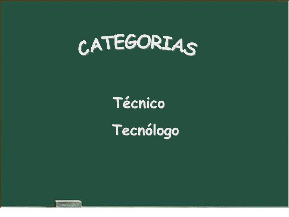 Técnico Tecnólogo