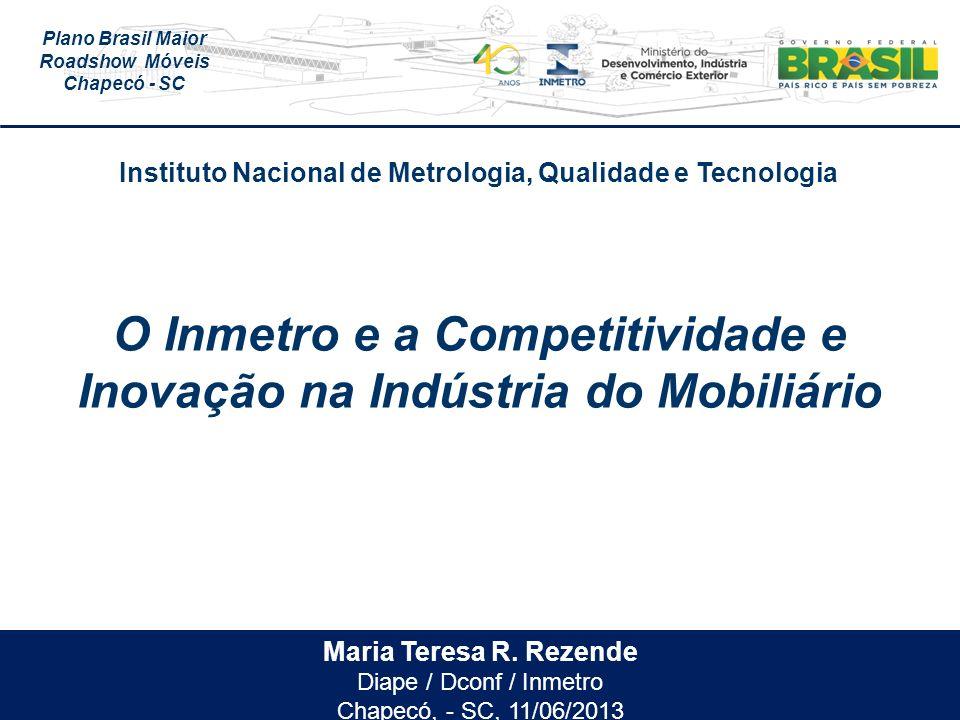 Plano Brasil Maior Roadshow Móveis Chapecó - SC Maria Teresa R.