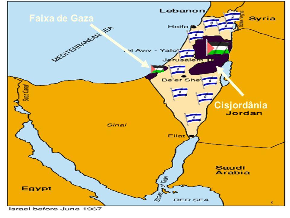 Sobre o Estado de Israel O país sobrevive sob a força das armas.