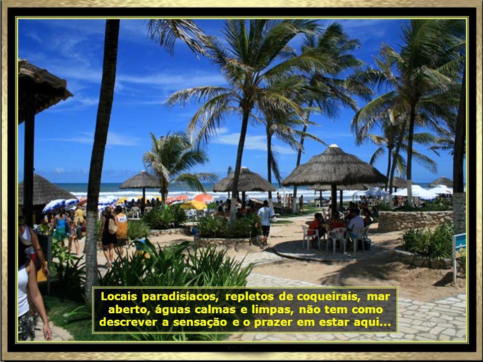 Sergipe é o menor estado do Brasil. Estando em Aracaju é possível conhecer todas as suas belezas, de norte a sul. Vamos então para a Praia do Refúgio,