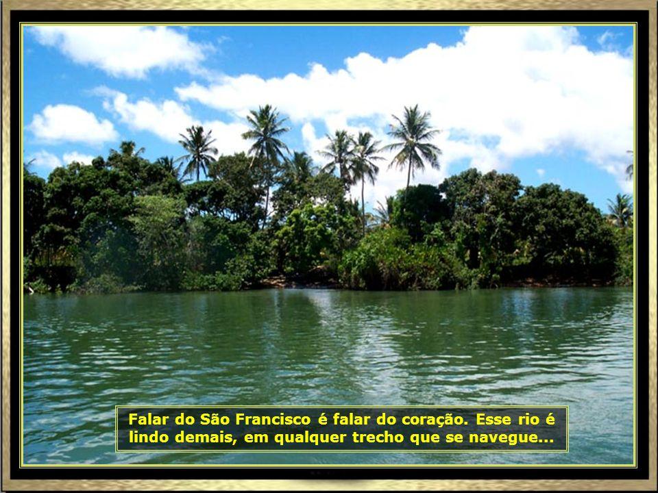 Agora é o momento de tocar mais fundo a emoção: é hora de conhecer a Foz do Rio São Francisco, na divisa de Sergipe com Alagoas...