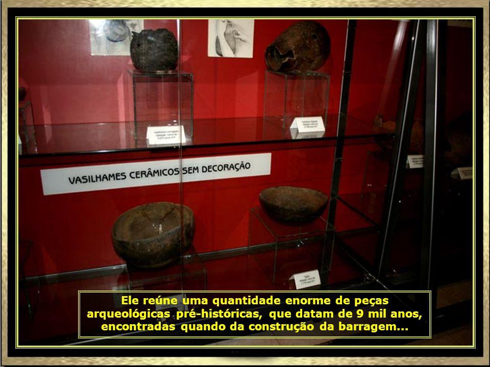 Em Canindé do São Francisco, anexo à Barragem do Xingó, tem o Museu de Arqueologia do Xingó, administrado pela Universidade Federal de Sergipe...