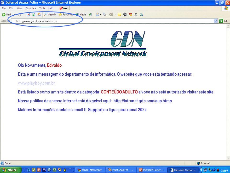10:59 Yahoo! – Microsoft Internet Explorer http://www.playboy.com.br