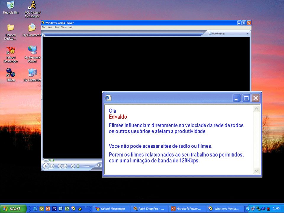 Windows Media Player Plays your digital media including music, videos, CDs, DVDs and Internet Radio 1:45