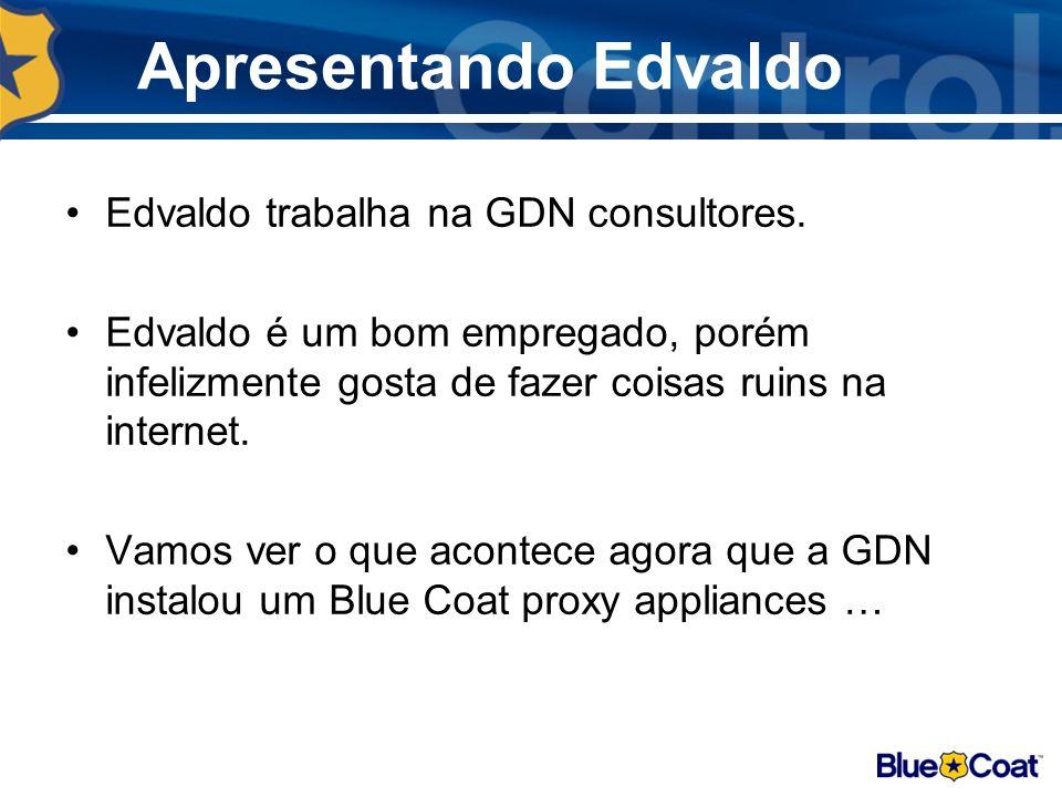 Apresentando Edvaldo Edvaldo trabalha na GDN consultores.