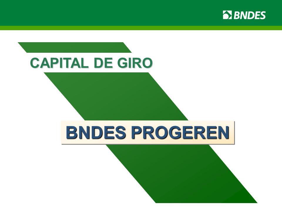BNDES PROGEREN CAPITAL DE GIRO