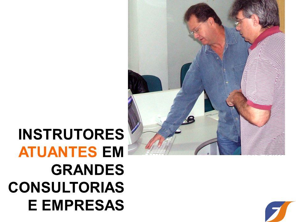 INSTRUTORES ATUANTES EM GRANDES CONSULTORIAS E EMPRESAS