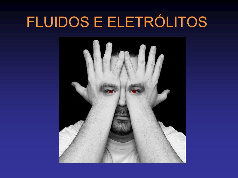 FLUIDOS E ELETRÓLITOS