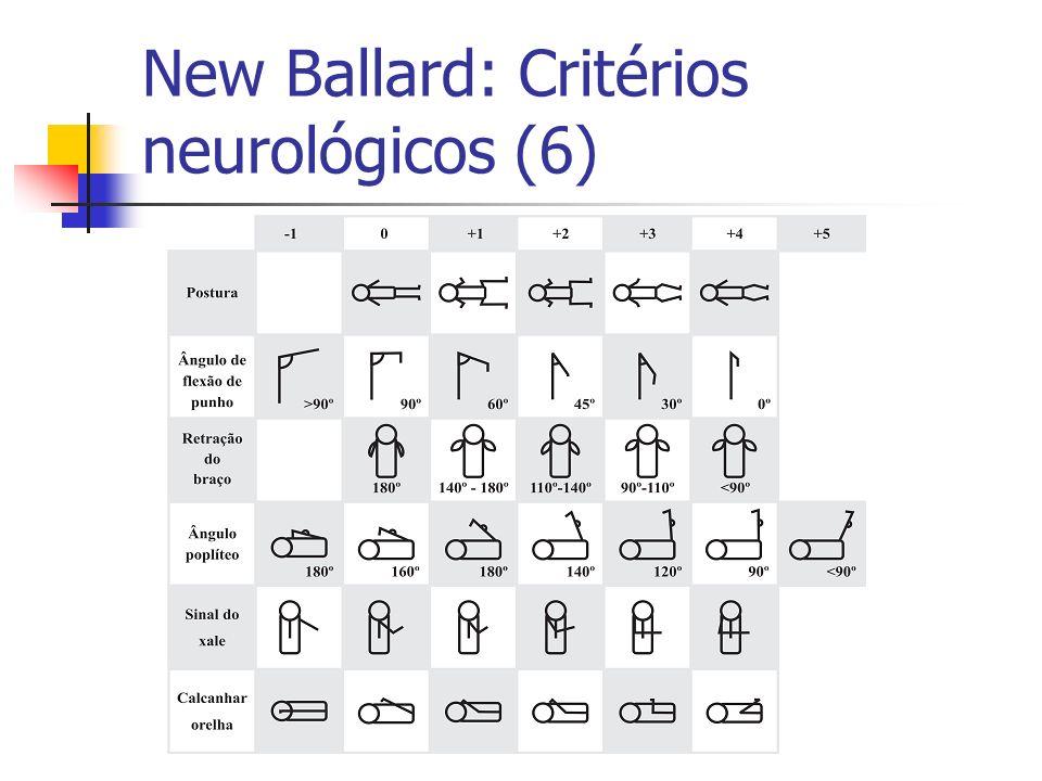 New Ballard: Critérios neurológicos (6)