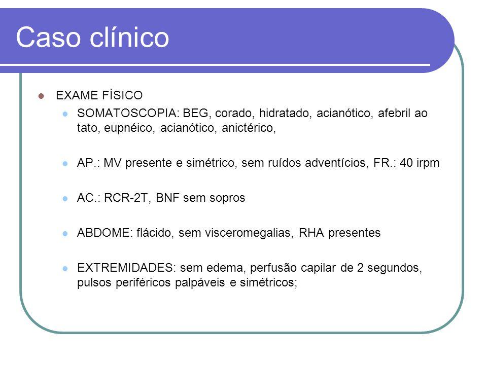 Caso clínico RADIOGRAFIA DE TÓRAX