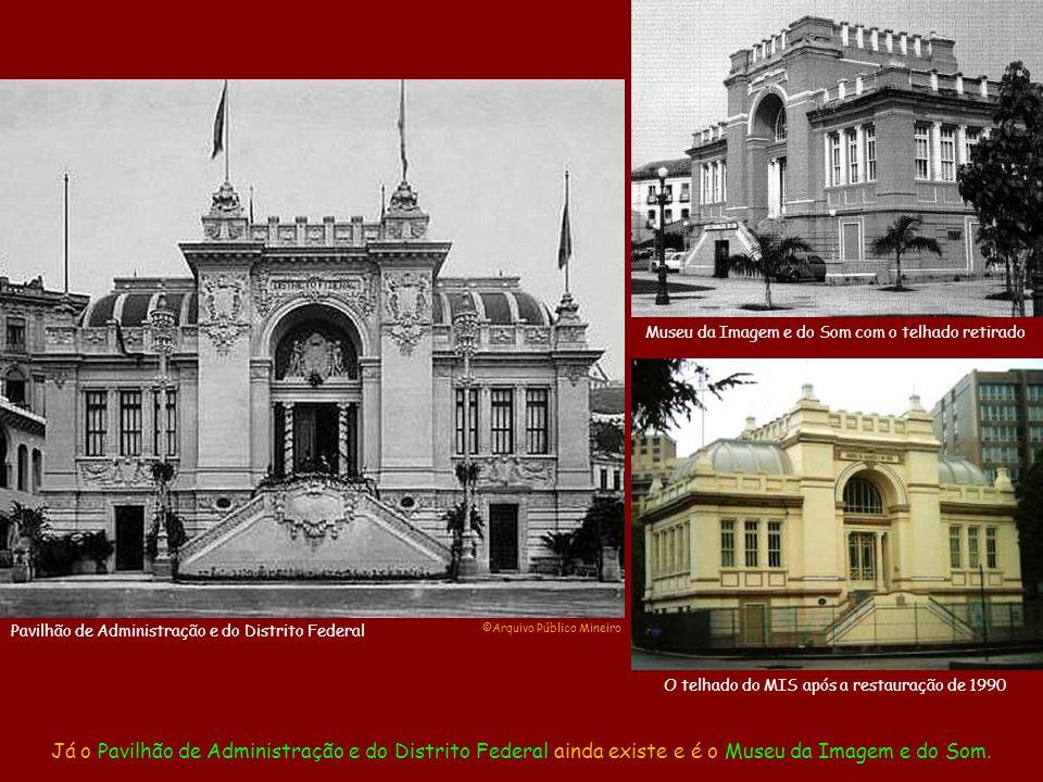 Apenas uns poucos Pavilhões permaneceram nos anos seguintes, como foi o caso do Pavilhão dos Estados, que acabou virando o Ministério da Agricultura até ser demolido no final da década de 1970.