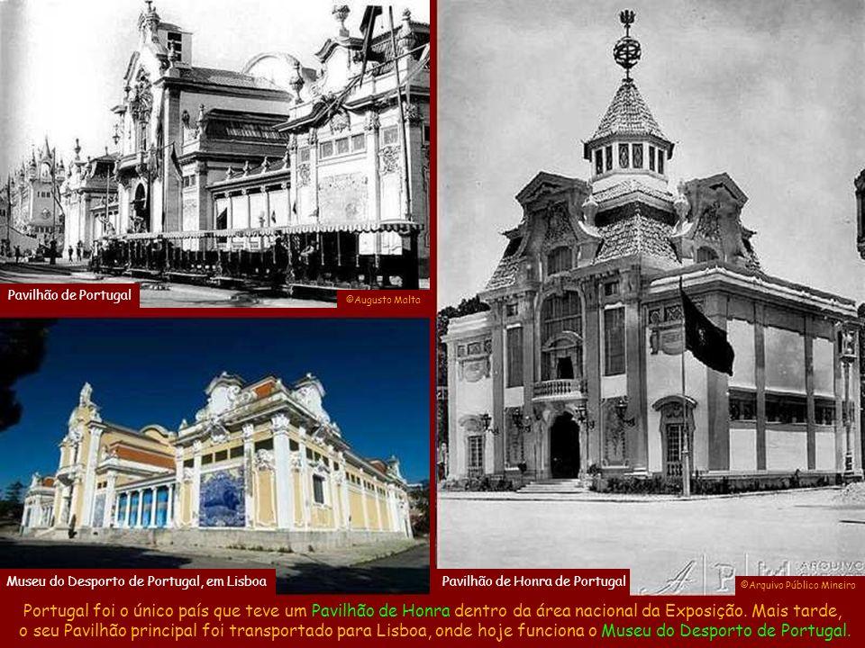 O Pavilhão das Grandes Indústrias aproveitou o prédio da Casa do Trem (antigo Arsenal de Guerra), que ficava ao lado do Forte do Calabouço e, ao final da Exposição, se transformou no Museu Histórico Nacional.