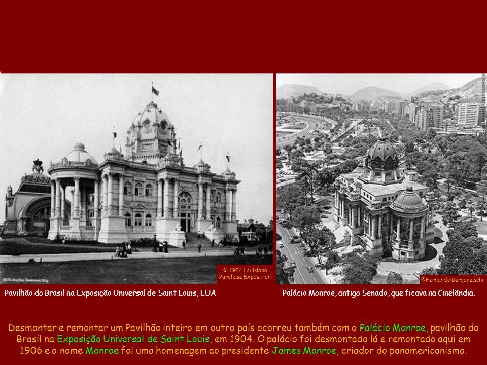 ©Arquivo Público Mineiro ©Augusto Malta Portugal foi o único país que teve um Pavilhão de Honra dentro da área nacional da Exposição.