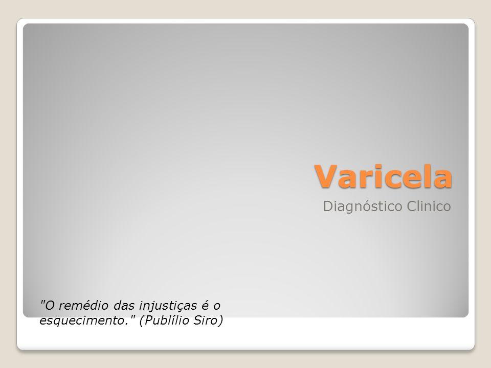 Varicela Diagnóstico Clinico