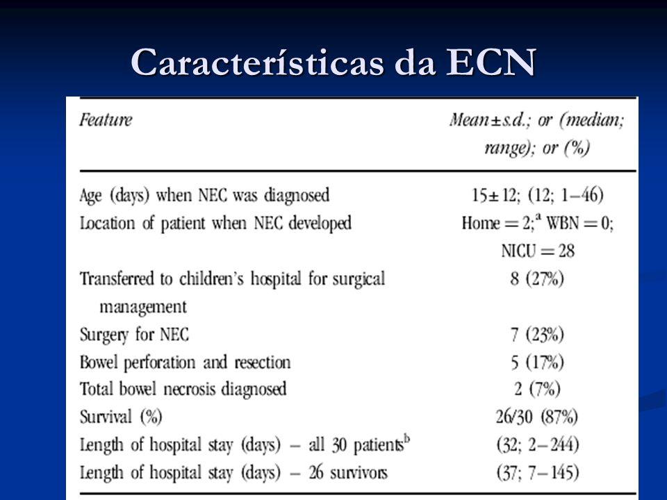 Características da ECN