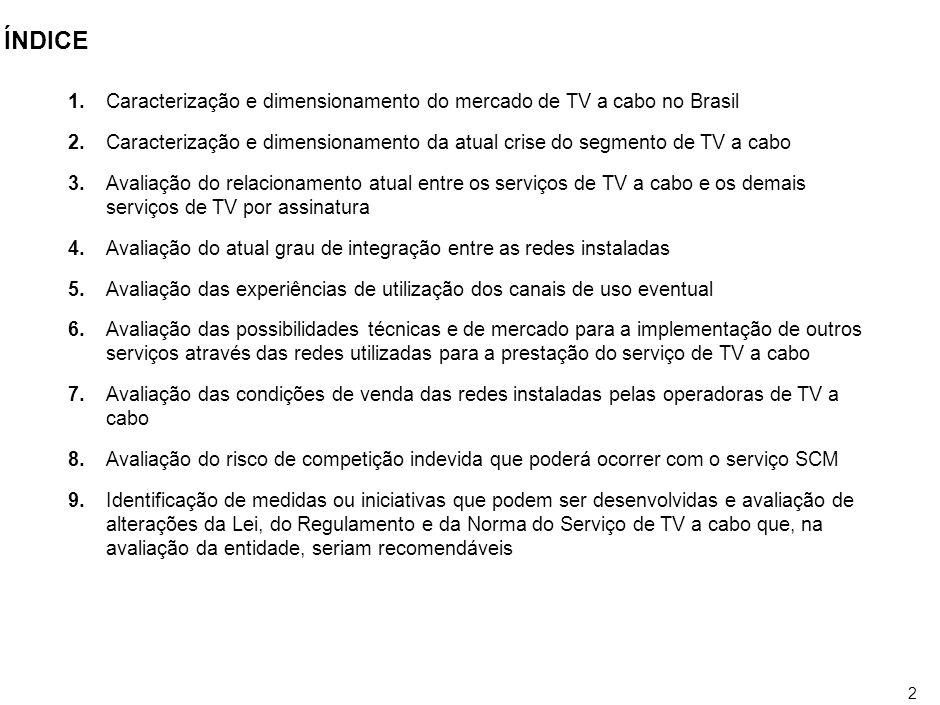 1 OBJETIVO DA APRESENTAÇÃO Apresentar uma pauta mínima para correção de distorções existentes na indústria de TV por assinatura.