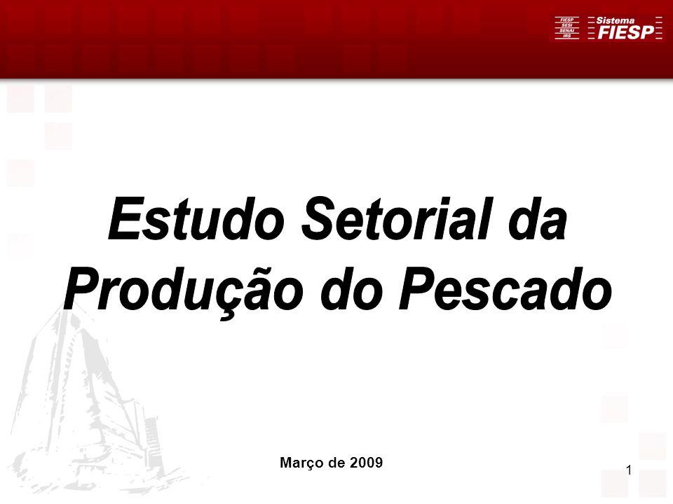 52 Informalidade A carga tributária para o Setor da Pesca São Paulo tem contribuído para o deslocamento de empresas para outros estados, e com o aumento da informalidade que, segundo alguns empresários, chega a ser de 90%.
