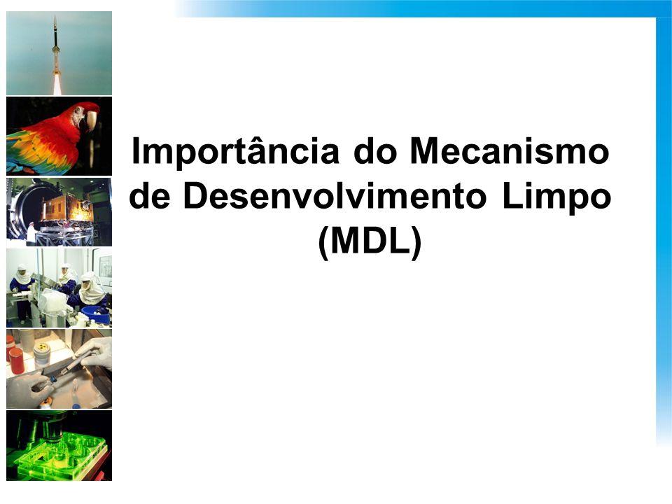 Importância do Mecanismo de Desenvolvimento Limpo (MDL)