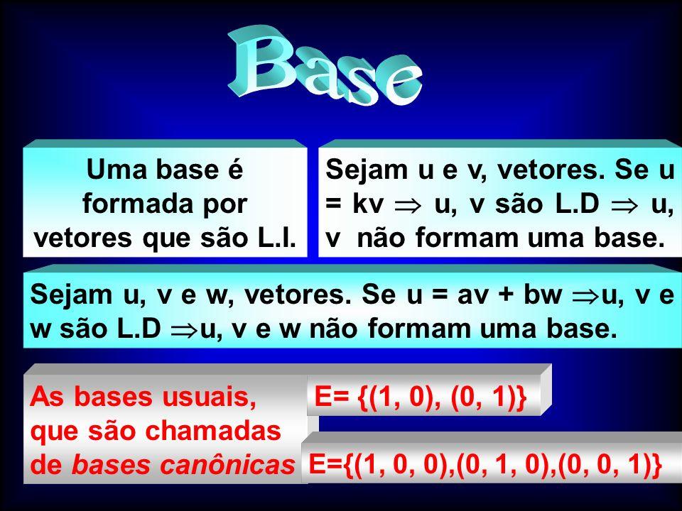 a b u  u  = (a 2 + b 2 ) Módulo de um vetor Comprimento de um vetor Dados os vetores u = (a, b) e v = (a, b, c) denota-se por módulo de u e módulo de v:  u  = (a 2 + b 2 )  v   = (a 2 + b 2 + c 2 ) Usando o teorema de Pitágoras, temos: 1.9 Módulo de um Vetor