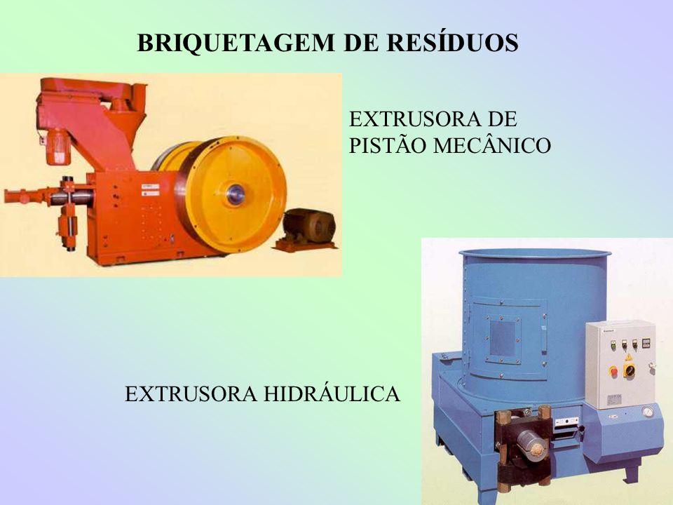 BRIQUETAGEM DE RESÍDUOS