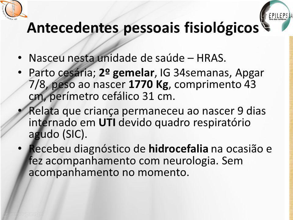 Conduta no pronto socorro Observação clínica por 24hs.
