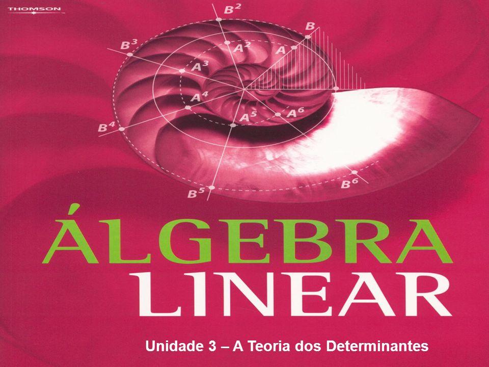 Determinantes Determinante é um número real associado a uma matriz quadrada.
