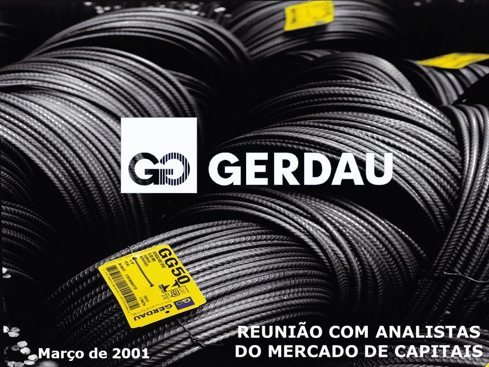 Fundação e Previdência * Em 2000, a Fundação Gerdau investiu R$ 11,0 milhões na área de saúde.