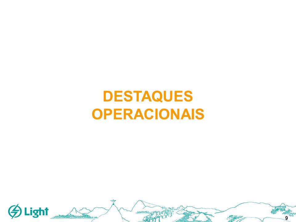 9 DESTAQUES OPERACIONAIS