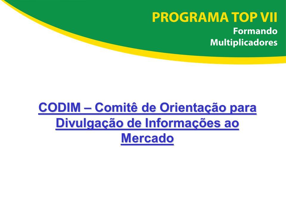 CODIM – Comitê de Orientação para Divulgação de Informações ao Mercado