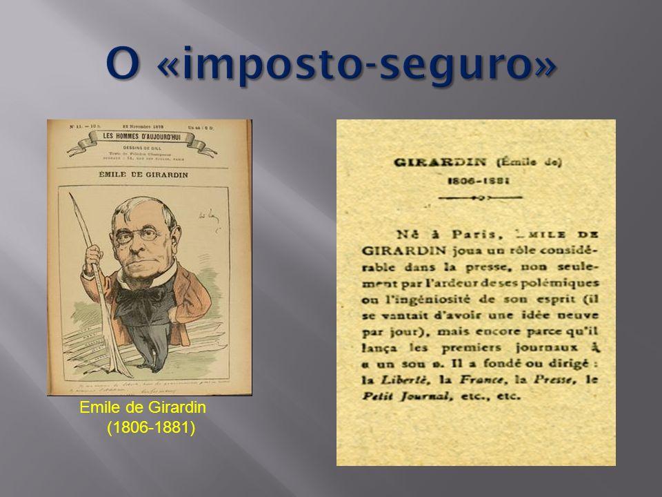 Emile de Girardin (1806-1881)