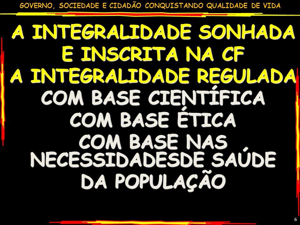 GOVERNO, SOCIEDADE E CIDADÃO CONQUISTANDO QUALIDADE DE VIDA GILSON CARVALHO 57 REFORMA TRIBUTÁRIA 2009