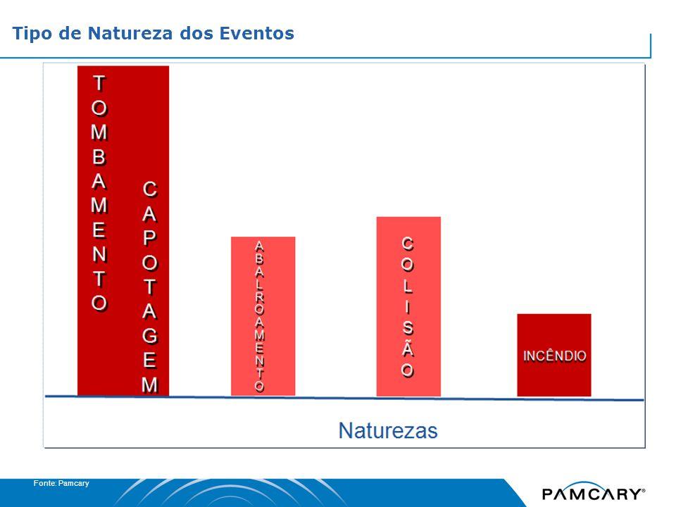 Fonte:Pamcary Fatores Contribuintes dos Eventos