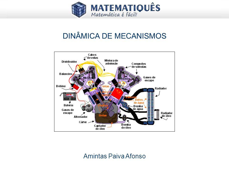DINÂMICA DE MECANISMOS Amintas Paiva Afonso