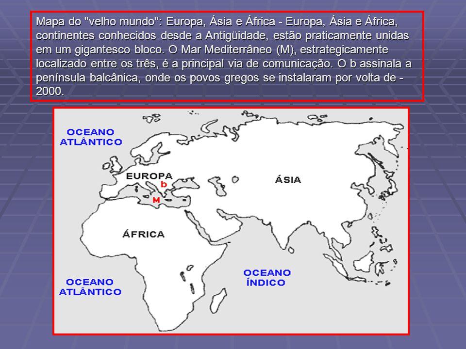 Períodos da história grega 1550 a 1100 a.C.Período Micênico 1100 a 750 a.C.