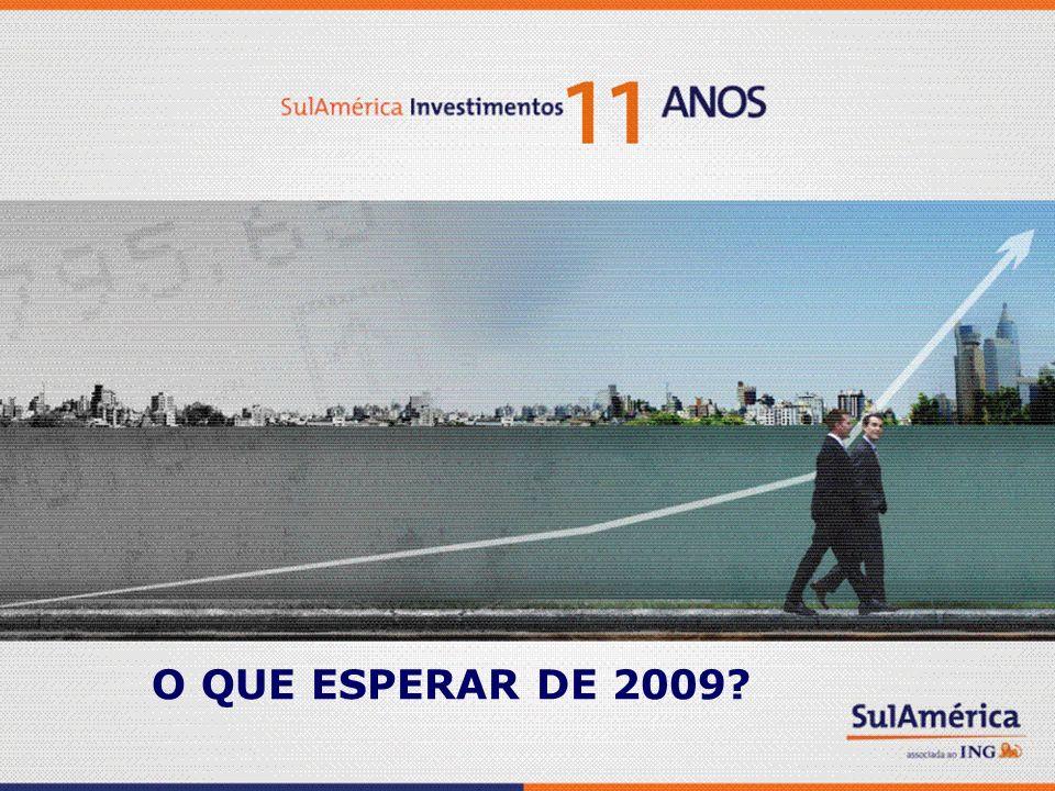 O QUE ESPERAR DE 2009?