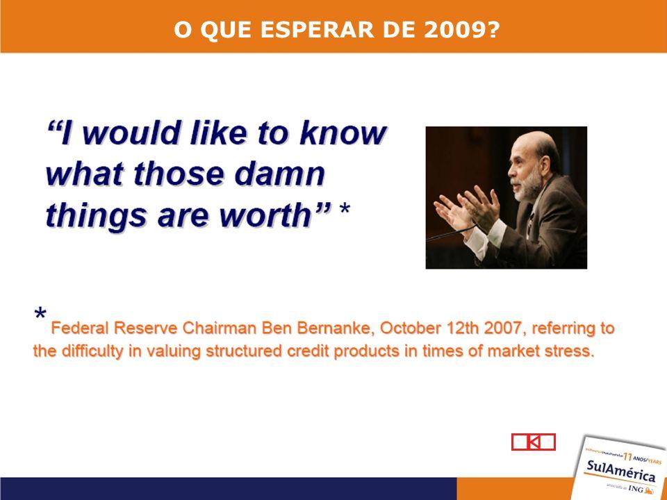 O QUE ESPERAR DE 2009