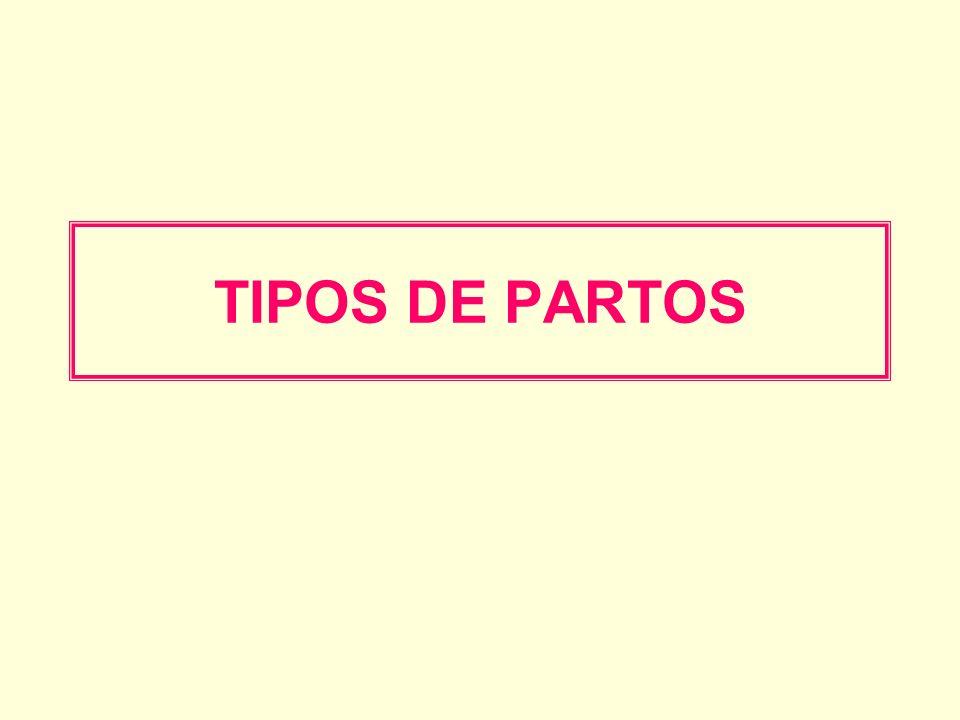 TIPOS DE PARTOS