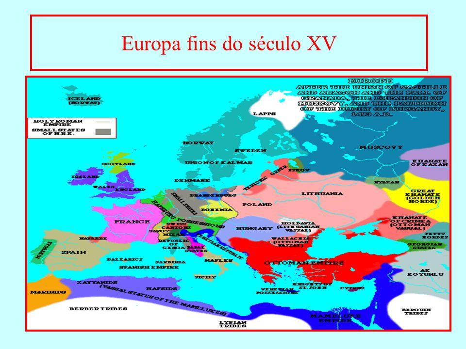 Europa fins do século XV