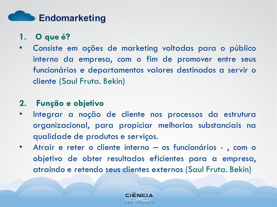 Endomarketing 1.O que é.