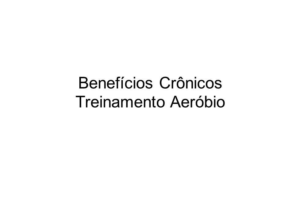 Benefícios Crônicos Treinamento Aeróbio