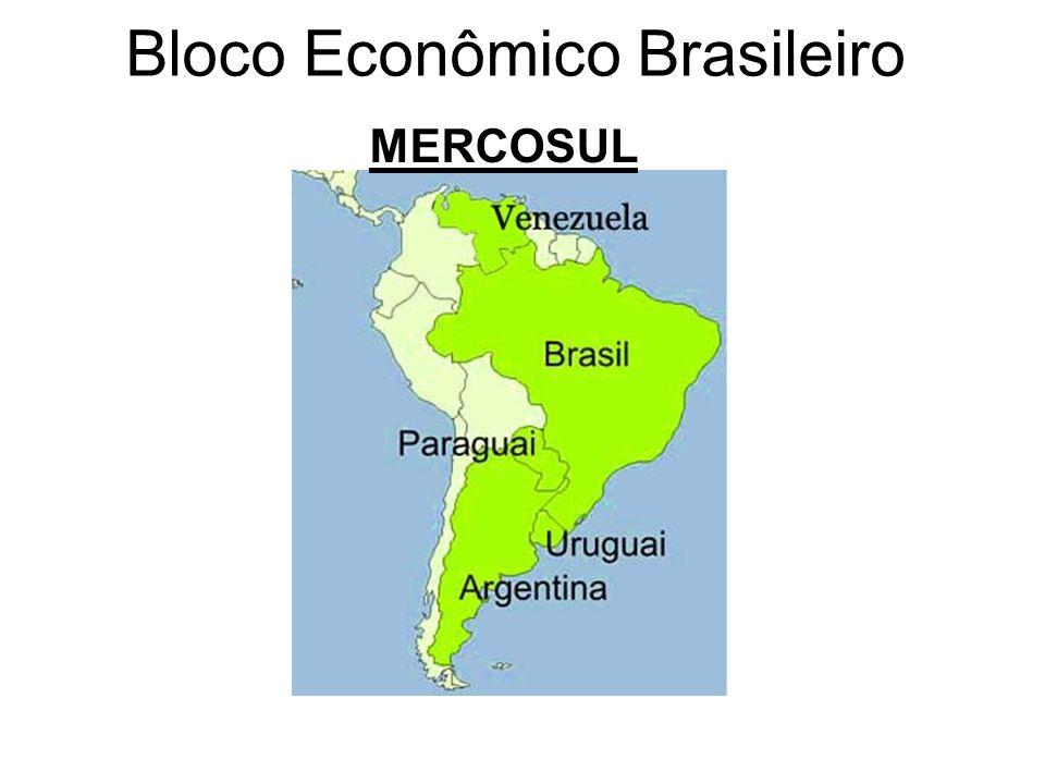 Bloco Econômico Brasileiro MERCOSUL