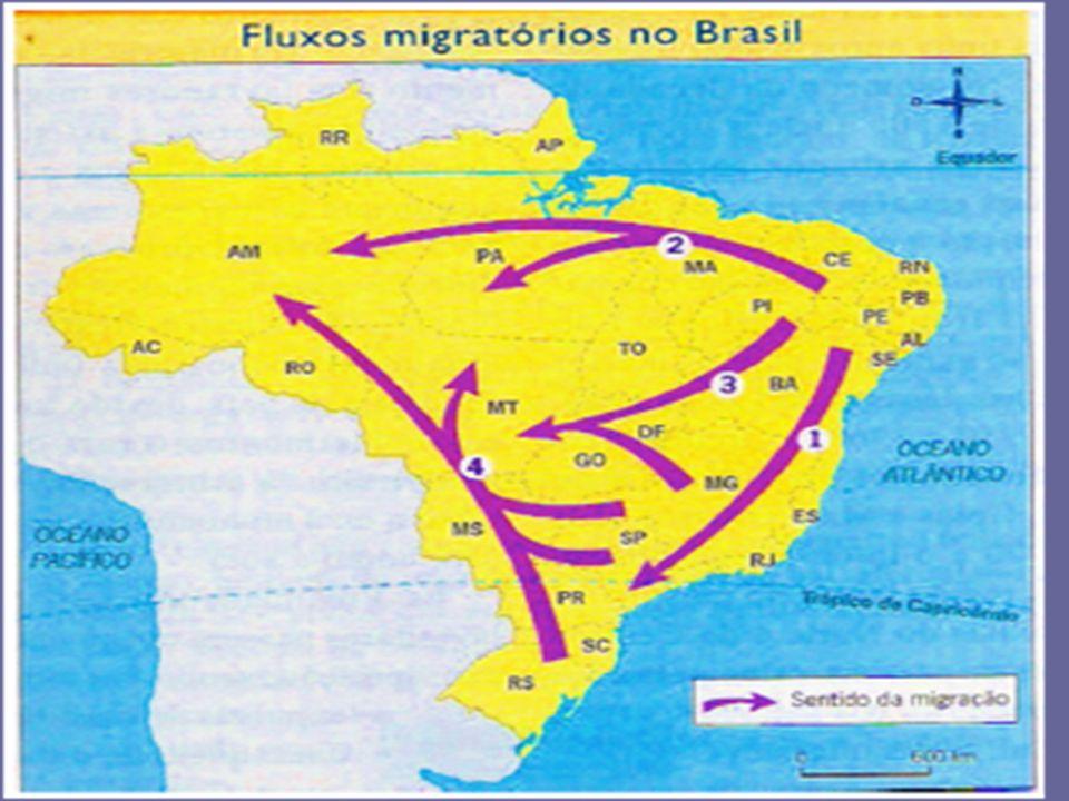 FLUXOS MIGRATÓRIOS EXTERNOS -leis que restringiram e eliminaram a escravidão no Brasil: *Eusébio de Queirós – 1850 – proibição ao tráfico de escravos.