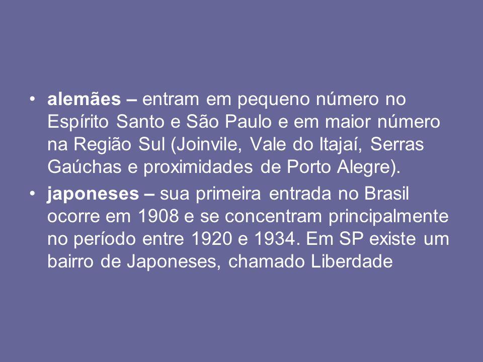 Outros povos Judeus ( Israelitas), Poloneses, árabes, holandeses e outras nacionalidades também ajudaram na miscigenação da população brasileira