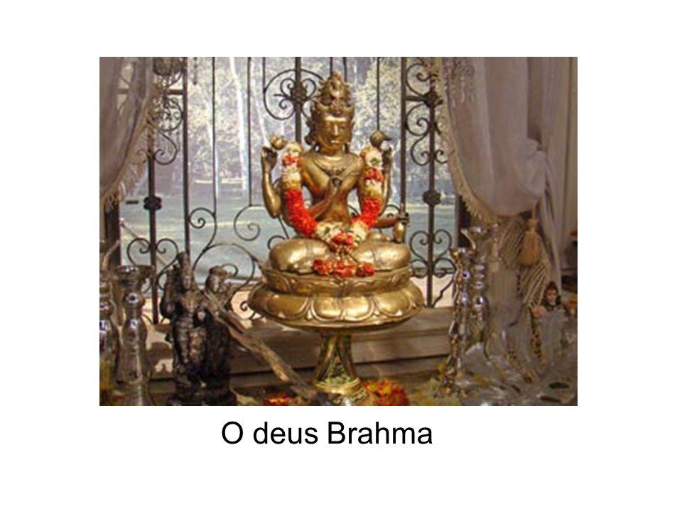 O deus Brahma