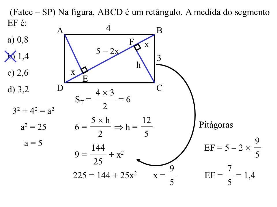 O paralelogramo ABCD da figura tem 18cm de perímetro e os segmentos CM e DM estão contidos nas bissetrizes dos ângulos Ĉ e Ď. A medida de AD é a) 3cm