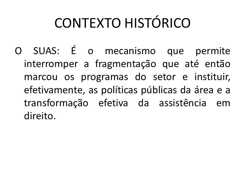 LEI ORGÂNICA DA ASSISTÊNCIA SOCIAL (LOAS) Art.