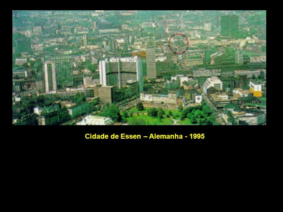 Cidade de Essen – Alemanha - 1995