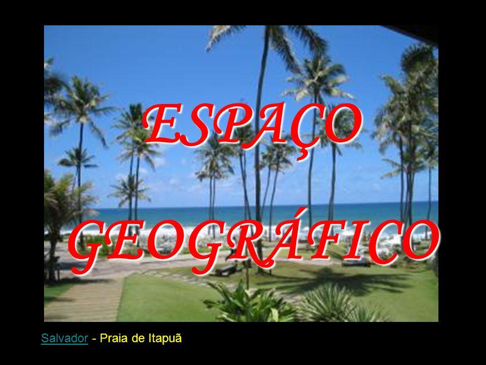 SalvadorSalvador - Praia de Itapuã ESPAÇOGEOGRÁFICO